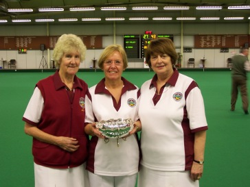 EWIBA Ladies National Triples Runners Up 2009