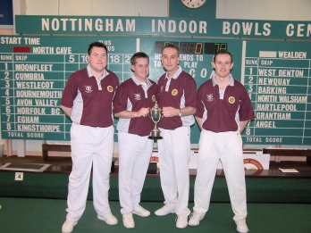 EIBA Mens National Fours Runners Up 2012