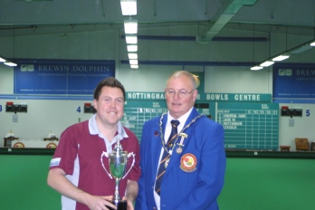 Paul Coleman - EIBA Singles Runner Up 2012